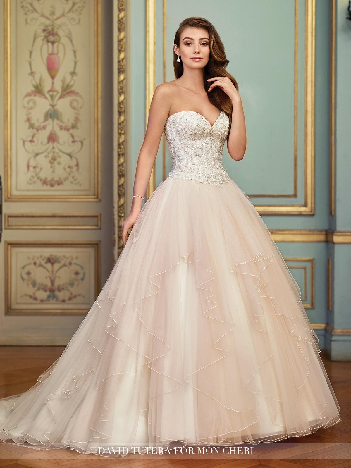 informal pink wedding dresses